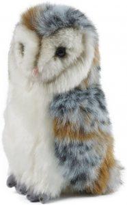 Peluche de Lechuza de Living Nature de 22 cm - Los mejores peluches de lechuzas - Peluches de animales