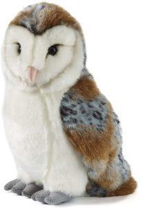 Peluche de Lechuza de Living Nature de 30 cm - Los mejores peluches de lechuzas - Peluches de animales
