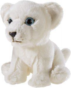 Peluche de León blanco de Heunec de 15 cm - Los mejores peluches de leones - Peluches de animales