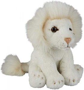 Peluche de León blanco de Ravensden de 15 cm - Los mejores peluches de leones - Peluches de animales