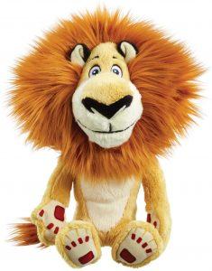 Peluche de León de Alex de Madagascar de 25 cm - Los mejores peluches de leones - Peluches de animales