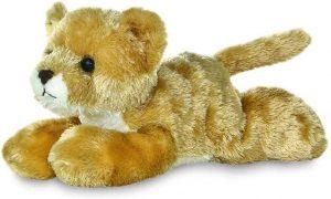 Peluche de León de Aurora de 21 cm - Los mejores peluches de leones - Peluches de animales