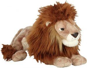 Peluche de León de Heunec de 40 cm - Los mejores peluches de leones - Peluches de animales
