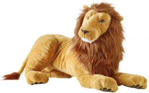 Peluche de León de Ikea de 70 cm - Los mejores peluches de leones - Peluches de animales