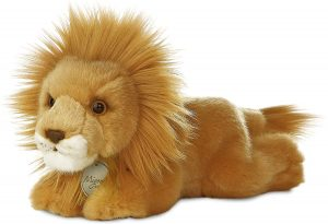 Peluche de León de Miyoni de 20 cm - Los mejores peluches de leones - Peluches de animales