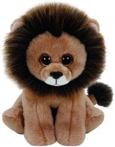 Peluche de León de TY de 15 cm - Los mejores peluches de leones - Peluches de animales