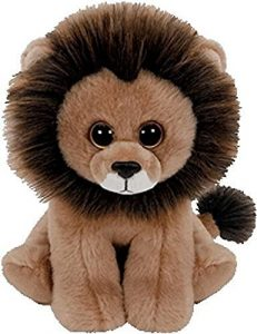 Peluche de León de TY de 23 cm - Los mejores peluches de leones - Peluches de animales