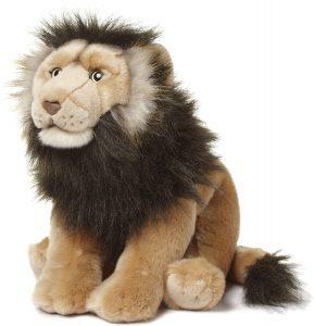 Peluche de León de WWF de 40 cm - Los mejores peluches de leones - Peluches de animales