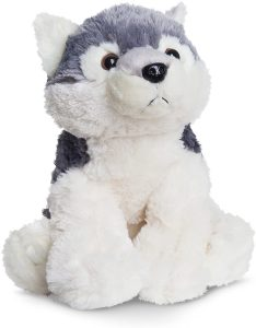 Peluche de Lobo de Aurora World de 35 cm - Los mejores peluches de lobos - Peluches de animales