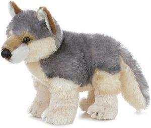 Peluche de Lobo de Aurora World de Flopsies de 31 cm - Los mejores peluches de lobos - Peluches de animales