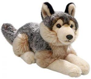 Peluche de Lobo de Carl Dick de 30 cm - Los mejores peluches de lobos - Peluches de animales