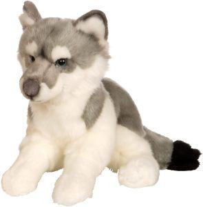Peluche de Lobo de Gipsy de 30 cm - Los mejores peluches de lobos - Peluches de animales