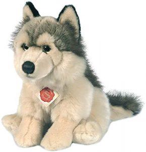 Peluche de Lobo de Hermann Teddy de 29 cm - Los mejores peluches de lobos - Peluches de animales