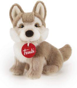 Peluche de Lobo de Trudi de 17 cm - Los mejores peluches de lobos - Peluches de animales