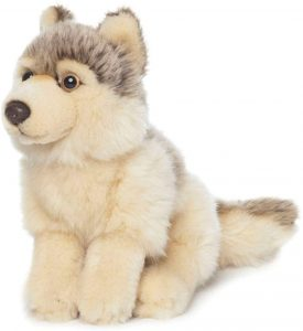 Peluche de Lobo de Universal Trends WWF de 15 cm - Los mejores peluches de lobos - Peluches de animales