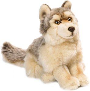 Peluche de Lobo de WWF de 25 cm - Los mejores peluches de lobos - Peluches de animales