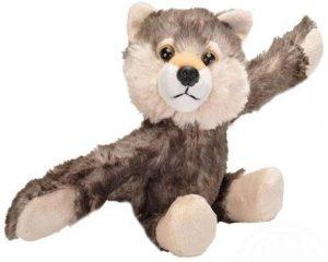 Peluche de Lobo de Wild Republic Hugger de 20 cm - Los mejores peluches de lobos - Peluches de animales