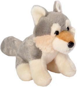 Peluche de Lobo de Wild Republic de 15 cm - Los mejores peluches de lobos - Peluches de animales
