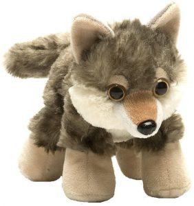 Peluche de Lobo de Wild Republic de 18 cm - Los mejores peluches de lobos - Peluches de animales