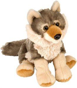 Peluche de Lobo de Wild Republic de 20 cm - Los mejores peluches de lobos - Peluches de animales
