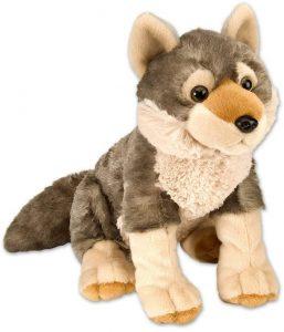 Peluche de Lobo de Wild Republic de 30 cm - Los mejores peluches de lobos - Peluches de animales