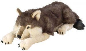 Peluche de Lobo de Wild Republic de 76 cm - Los mejores peluches de lobos - Peluches de animales