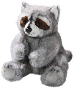 Peluche de Mapache de Carl Dick de 25 cm - Los mejores peluches de mapaches - Peluches de animales
