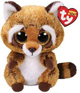 Peluche de Mapache de TY de 15 cm - Los mejores peluches de mapaches - Peluches de animales