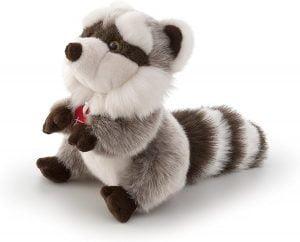Peluche de Mapache de Trudi de 25 cm - Los mejores peluches de mapaches - Peluches de animales