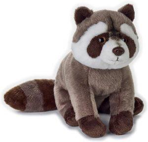 Peluche de Mapache de Venturelli de 30 cm - Los mejores peluches de mapaches - Peluches de animales