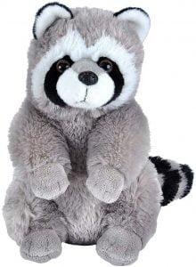 Peluche de Mapache de Wild Republic de 30 cm - Los mejores peluches de mapaches - Peluches de animales