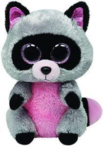 Peluche de Mapache gris de TY de 15 cm - Los mejores peluches de mapaches - Peluches de animales