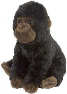 Peluche de Mini Gorila de Wild Republic de 20 cm - Los mejores peluches de gorilas - Peluches de animales
