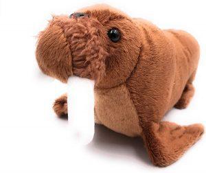 Peluche de Morsa de Onwomania de 21 cm - Los mejores peluches de morsas - Peluches de animales
