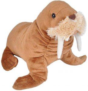 Peluche de Morsa de Wild Republic de 20 cm - Los mejores peluches de morsas - Peluches de animales