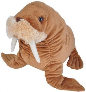 Peluche de Morsa de Wild Republic de 30 cm - Los mejores peluches de morsas - Peluches de animales