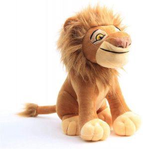 Peluche de Mufasa del Rey león de Disney de 30 cm - Los mejores peluches del Rey León - Peluches de Disney