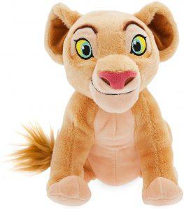 Peluche de Nala del Rey león de Disney de 17 cm - Los mejores peluches del Rey León - Peluches de Disney
