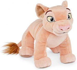 Peluche de Nala del Rey león de Disney de 28 cm - Los mejores peluches del Rey León - Peluches de Disney