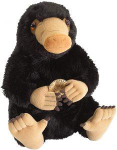 Peluche de Niffler de Animales fantásticos de The Noble Collection de 33 cm - Escarbato - Los mejores peluches de niffler - Peluches de Harry Potter