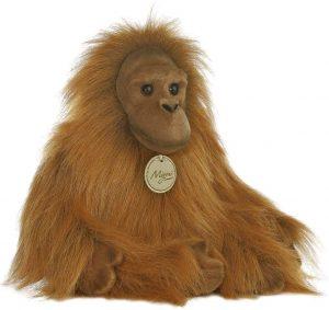Peluche de Orangután de Aurora de 28 cm - Los mejores peluches de orangutanes - Peluches de animales