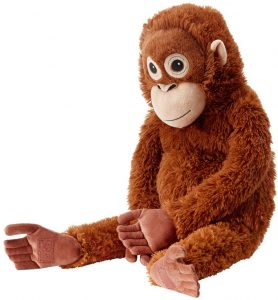 Peluche de Orangután de IKEA de 29 cm - Los mejores peluches de orangutanes - Peluches de animales
