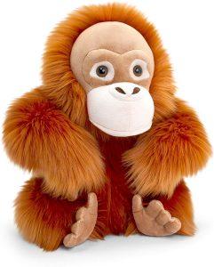 Peluche de Orangután de Keel Toys de 30 cm - Los mejores peluches de orangutanes - Peluches de animales