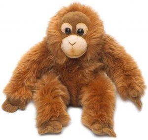 Peluche de Orangután de Universal Trends de 23 cm - Los mejores peluches de orangutanes - Peluches de animales