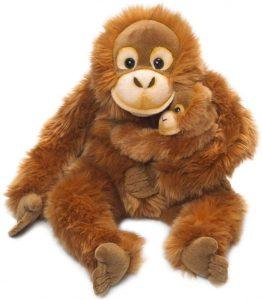 Peluche de Orangután de WWF de 25 cm - Los mejores peluches de orangutanes - Peluches de animales