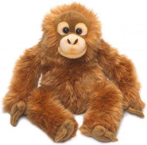 Peluche de Orangután de WWF de 39 cm - Los mejores peluches de orangutanes - Peluches de animales