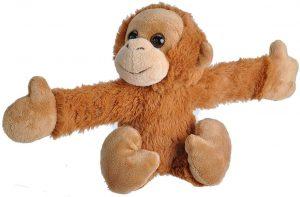 Peluche de Orangután de Wild Republic Huggers de 20 cm - Los mejores peluches de orangutanes - Peluches de animales