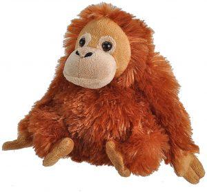 Peluche de Orangután de Wild Republic de 20 cm - Los mejores peluches de orangutanes - Peluches de animales