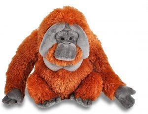 Peluche de Orangután de Wild Republic de 30 cm - Los mejores peluches de orangutanes - Peluches de animales
