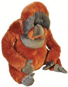 Peluche de Orangután de Wild Republic de 53 cm - Los mejores peluches de orangutanes - Peluches de animales